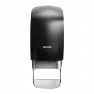 Katrin Inclusive Core Catcher Toilet Roll Black Dispenser - 92049