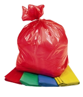 Medium Duty Yellow Refuse Sacks (Case of 200)