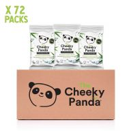 Cheeky Panda Biodegradable Bamboo 12 Handy Wipes X 72 Packs