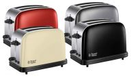 Russell Hobbs Colour Plus 2 Slice Toaster (Various Colours)