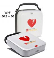 Lifepak® CR2 Wi-Fi 30.2 +3G Fully Automatic AED & Carry Case