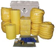General Purpose 1100L Spill Kit, Wheeled Bin, Plug Rug Drain Cover