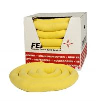 Chemical Absorbent Socks 8cm x 3m x 8 Boxed