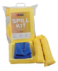 10 Litre Chemical Spill Kit in a Clip Close Bag