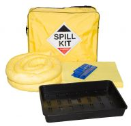 50L Chemical Spill Kit with Drip Tray