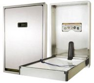 Dolphin Full Stainless Vertical Baby Changing Unit (Various Options)