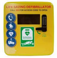 Outdoor Polycarbonate Defibrillator Cabinet 4000 Series- Locked