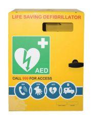Outdoor Defibrillator Cabinet Mild Steel Unlocked 2000 Series
