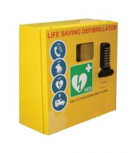 Outdoor Defibrillator Cabinet Mild Steel Locked 1000 Series
