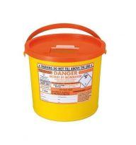 Orange Lid Sharps Bin 7 Litre (Case of 40)