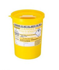 Yellow Lid Sharps Bin 3.75 Litre (Case of 48)