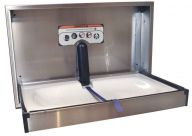 Dolphin S/Steel Horizontal Baby Changing Unit (Various Options)