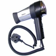 Valera Action 1600w Hairdryer Only In Black with Fitted Plug