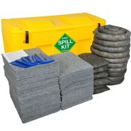 400 Litre EVO Recycled® Spill Kit in Yellow Locker