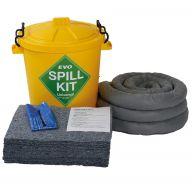 60 Litre EVO Recycled® Spill Kit in Plastic Drum