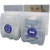Evolution PPE Point (Eye Protection & Mask Dispenser)