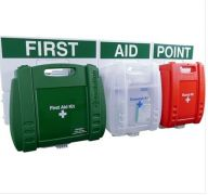 Evolution BS Compliant Food Hygiene, Eyewash & Burns First Aid Point