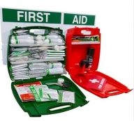 Evolution BS Compliant First Aid and Fire Safety Point