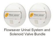 Flowsaver Urinal System including Solenoid Valve Bundle