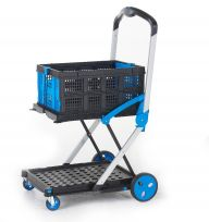 ProPlaz Clever Folding Wheeled Trolley with Two Tray