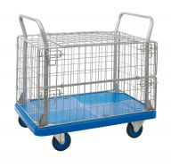 ProPlaz Blue Mesh Surround and Security Truck Lid or Open