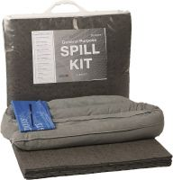 20 Litre General Purpose Spill Kit Clip Close Bag