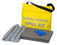 45L Chemical Spill Kit in a Flap Close Shoulder Bag