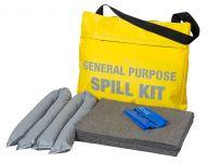 25L Oil & Fuel Spill Kit in a Flap Close Shoulder Bag