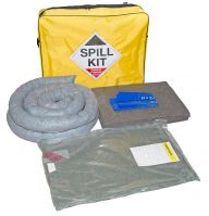 50 Litre Maintenance Spill Kit with Drain Cover in Shoulder Bag