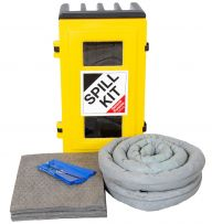 50L General Purpose Spill Kits in a Robust Wall Cabinet