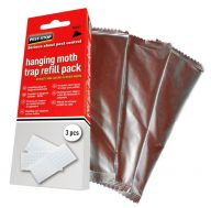 Hanging Moth Trap (Pack of 3 Refills)