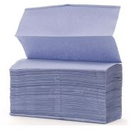 Interleaf Blue Hand Towel 1 Ply