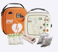 IPAD SP1 AED Semi Auto Defibrillator Bundle Easy Switch Paediatric