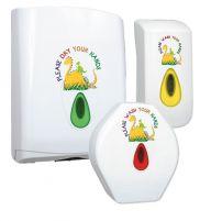Children's Dino Modular Washroom Dispenser Bundle (Liquid Soap)