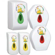 Children's Dino Complete Modular Washroom Bundle (Sanitiser Soap)
