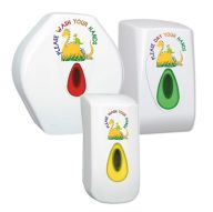 Children's Dino Modular Hand Dryer & Dispenser Bundle (Foam Soap)