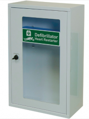 AED Defib Cabinet with Thumb Lock, Empty