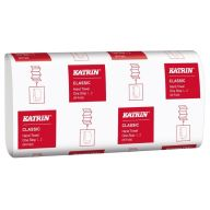 Katrin Classic One Stop White Hand Towels 2ply (Case of 21) - 345152