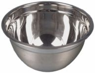 """Stainless Steel Mixing Bowls (9.5"""") 24 cm (Pack of 5)"""