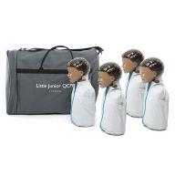 Little Junior™Child CPR Training Manikin Dark Skin Quad Pack