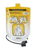 Defibtech Lifeline Adult Defibrillator Pads - 1 Set Package