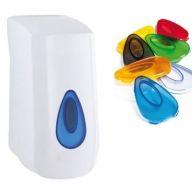 Modular 400ml Liquid Soap Dispenser with Choice of Coloured Window