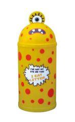 Monster 42 Litre Litter Bin in Yellow