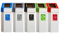 Trojan 60L MyBin Cardboard Recycling Bins (Pack of 5)