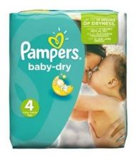 Pampers Baby Dry Nappies (Various Sizes)