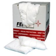 Oil & Fuel Absorbent Cushions 30cm x 35cm x 20 in Dispenser Box