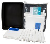 40L Oil & Fuel Spill Kits with Flexi-tray Included