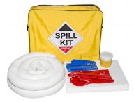 50L Vehicle Oil & Fuel Spill Kit, Plugging Compound, Shoulder Bag