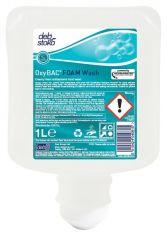 Deb OxyBAC 1 Litre Foam Wash Cartridges (Case of 6)