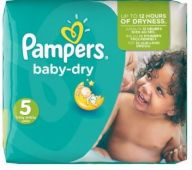 Pampers Junior Baby Dry Nappies